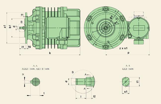 Электродвигатели серии ККЕ, АКЕ, АККЕ – Ex (КК, АК, АКК)