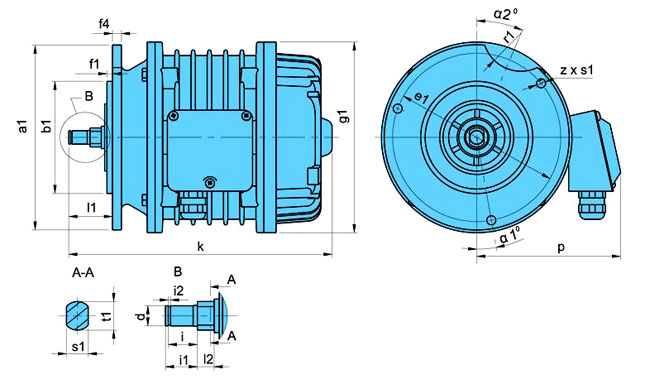 Электродвигатели серии ККЕ (КК)