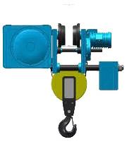 Серия MT, EK - тельфер электрический канатный передвижной в исполнении с уменьшенной строительной высотой