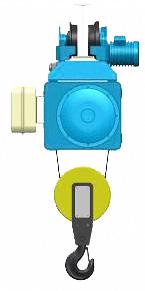 Серия MT, EN - тельфер электрический канатный передвижной