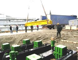Поставка мостовых кранов в г. Туапсе
